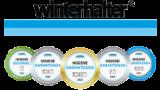 Logo Winterhalter con sellos de calidad